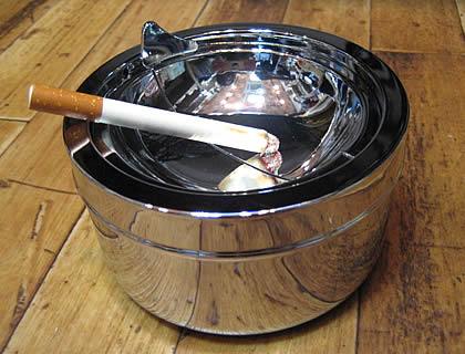 ティアドロップ缶灰皿アントレックス  卓上灰皿 アメリカン雑貨画像