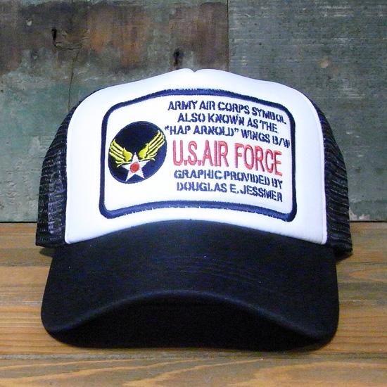 U.S.AIR FORCE メッシュキャップ アメカジ アメリカン雑貨の画像