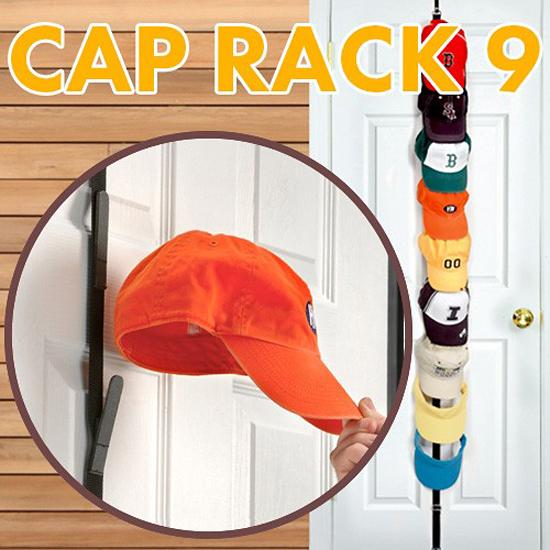 キャップハンガー CAP RACK9 帽子収納 アメリカン雑貨画像
