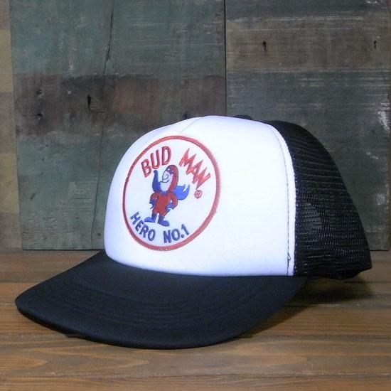 バドマン メッシュキャップ BUD MAN 帽子 アメカジ アメリカン雑貨の画像