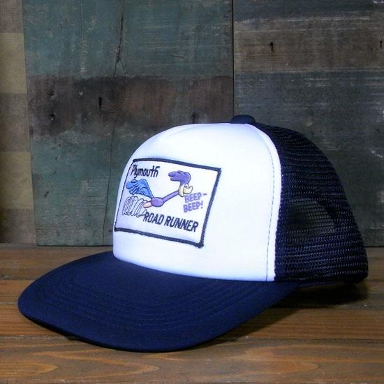 ロードランナー メッシュキャップ ROAD RUNNER 帽子 アメカジ アメリカン雑貨の画像