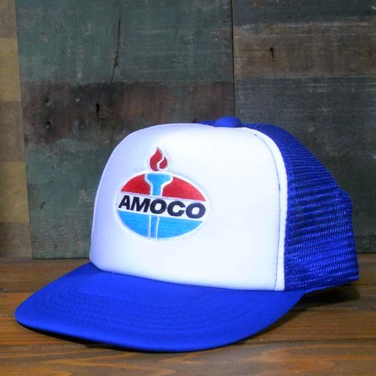 アモコ メッシュキャップ AMOCO 帽子 アメカジ アメリカン雑貨の画像