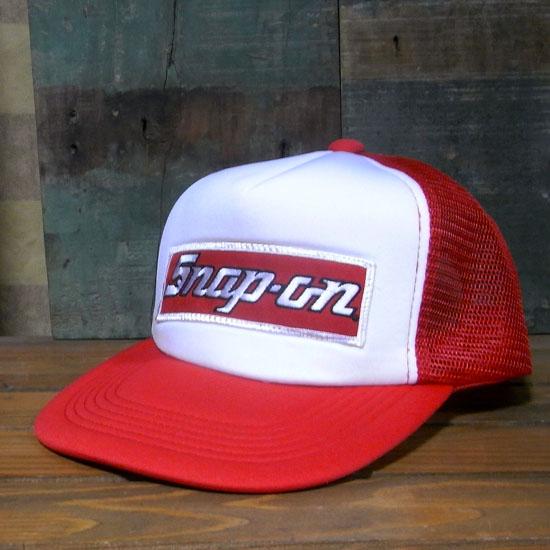 スナップオン メッシュキャップ snap-on 帽子 モーター系 アメリカン雑貨の画像