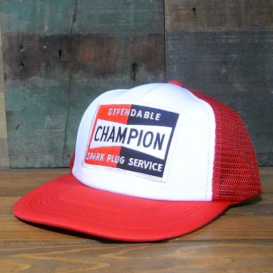 チャンピオン メッシュキャップ CHAMPION 帽子 アメカジ アメリカン雑貨の画像