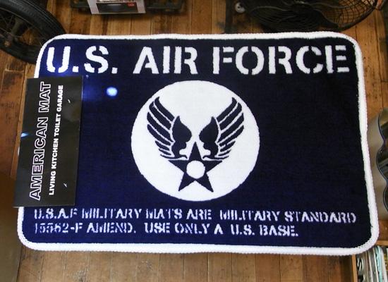 【U.S.AIR FORCE】インテリアマット 玄関マット バスマット アメリカン雑貨の画像