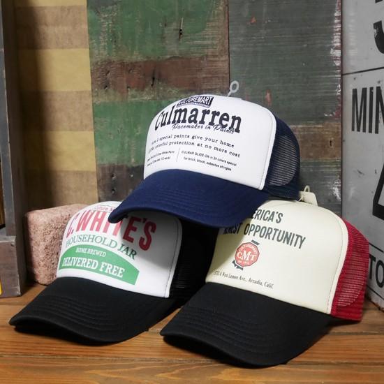 アメリカンメッシュキャップ 野球帽 アメカジ カルチャーマート アメリカン雑貨画像