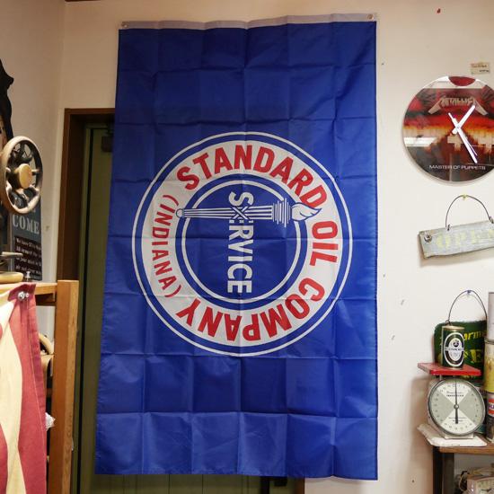 スタンダードオイル タペストリー Standard Oil Company フラッグ アメリカン雑貨の画像