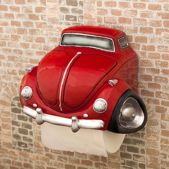 トイレットペーパーホルダー RED CAR ビートルタイプ アメリカン インテリアの画像