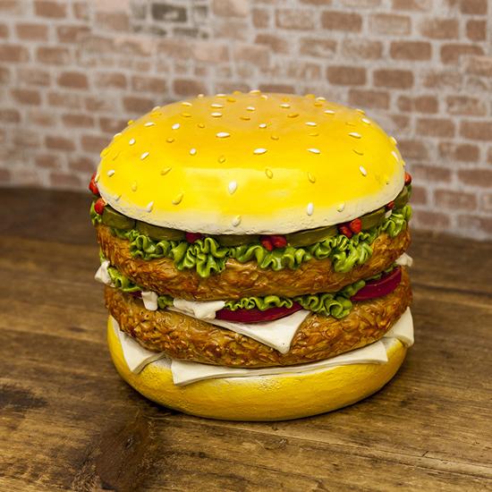 ハンバーガー マネーバンク 貯金箱 インテリア アメリカン雑貨の画像