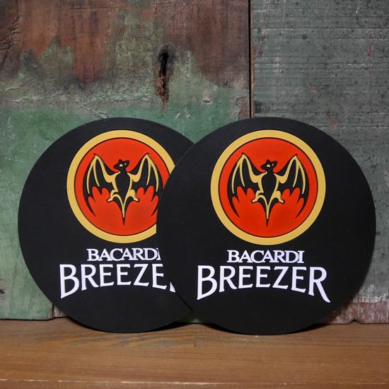 バカルディ ラバーコースター 2枚セット BACARDI アメリカン雑貨の画像