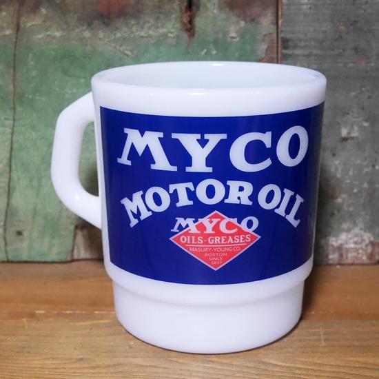 MYCO プラスチック マグカップ ミルキースタッキングマグカップ アメリカン雑貨の画像