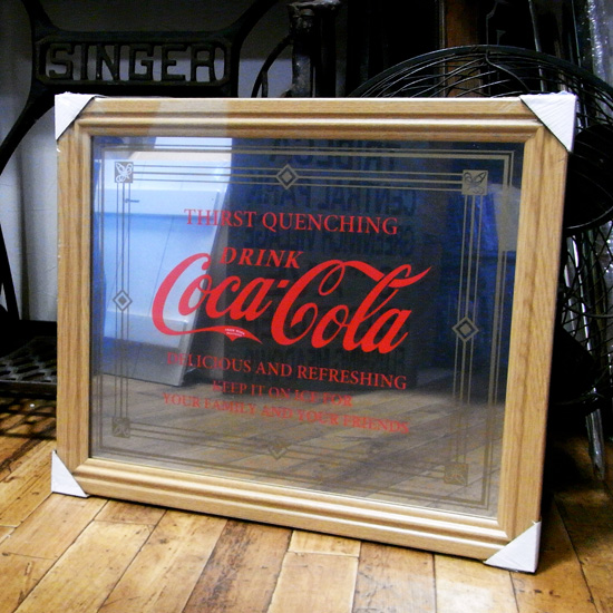 コカコーラ パブミラー アメリカン雑貨 アメリカ雑貨画像