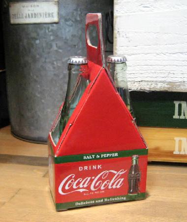 コカコーラ ソルト&ペッパー キッチングッズ アメリカ雑貨の画像