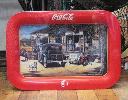 コカコーラ トレイ アメリカ雑貨 ティントレイ お盆 アメリカン雑貨の画像