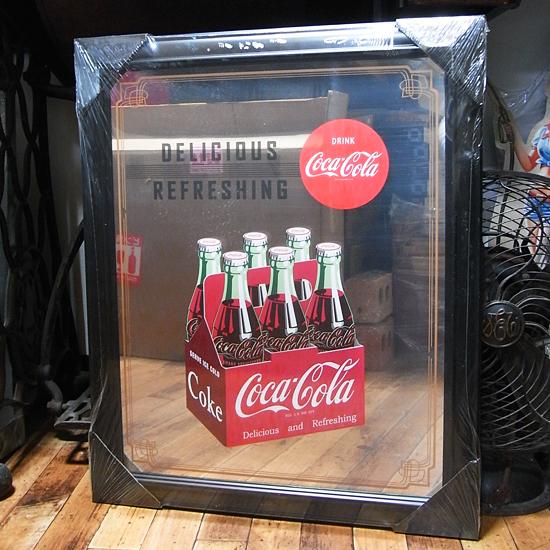コカコーラ パブミラー インテリア アメリカ雑貨の画像
