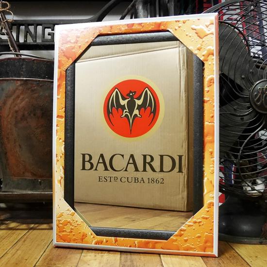 BACARDI パブミラー バカルディ スピーゲルミラー インテリア 鏡の画像