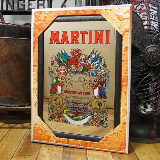 MARTINI パブミラー マルティーニ スピーゲルミラー インテリア 鏡の画像