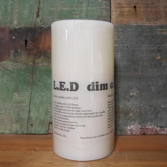LED キャンドルライト Mサイズ DIM CANDLE インテリアの画像