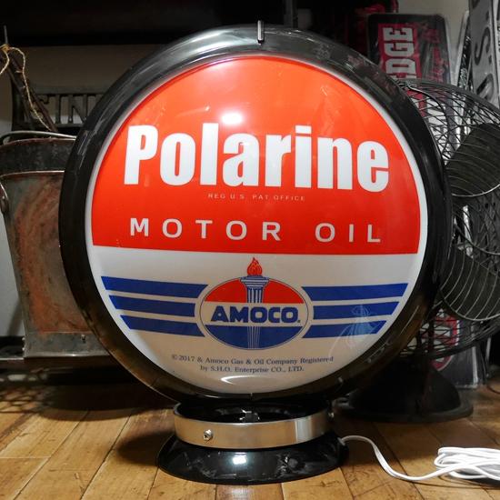 ガスランプ Polarine AMOCO インテリア ネオンサイン アメリカン雑貨の画像