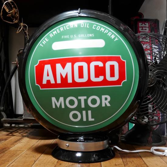 ガスランプ AMOCO インテリア ネオンサイン アメリカン雑貨の画像