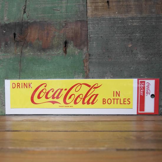 コカコーラ ステッカー COCACOLA DRINK STICKERS アメリカン雑貨の画像
