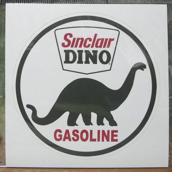 SINCLAIR ステッカー シンクレア オイル シール アメリカン雑貨 アメリカンステッカーの画像