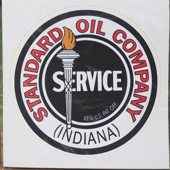 Standard Oil Company ステッカー スタンダード オイル カンパニー シール アメリカン雑貨の画像