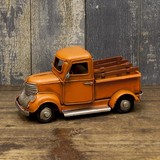 ミニ ピックアップトラック ブリキのおもちゃ ヴィンテージカー インテリア自動車の画像