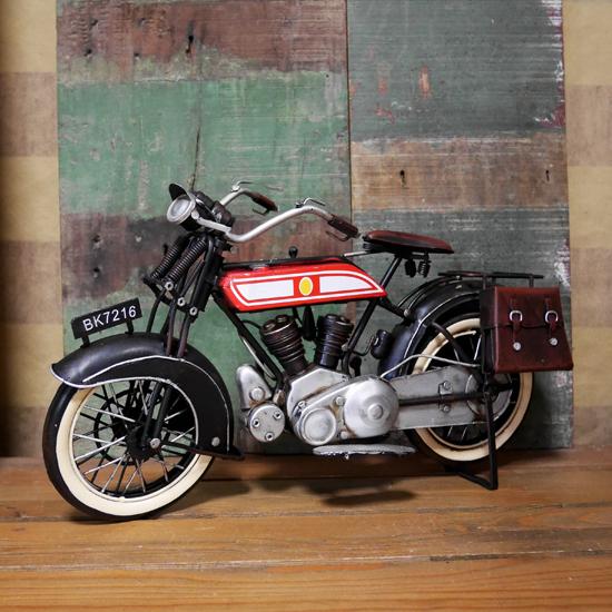 ブリキのおもちゃ バイク motorcycle オートバイ アメリカン雑貨画像