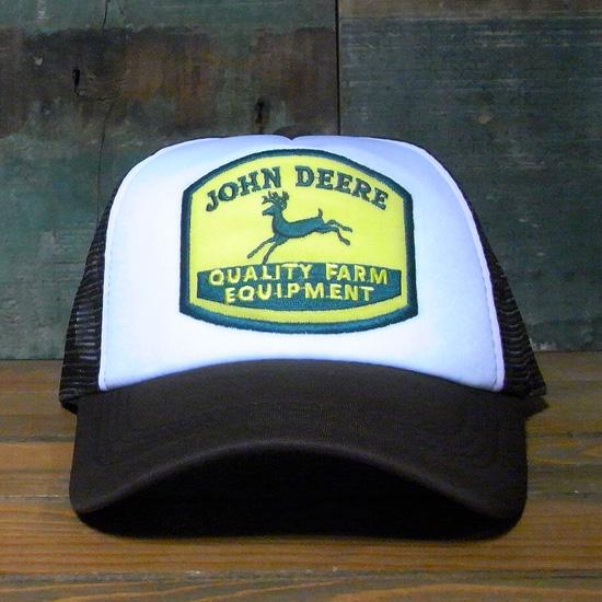 ジョンディア メッシュ キャップ JOHN DEERE 帽子 アメリカン雑貨の画像
