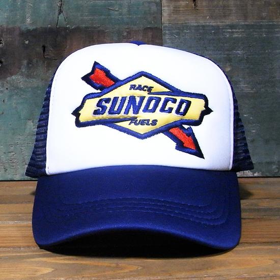 SUNOCO メッシュ キャップ 帽子 スノコ アメリカンメッシュキャップ の画像