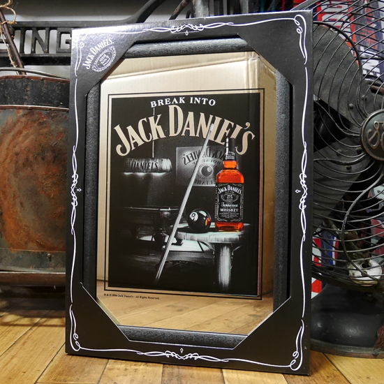 JACK DANIEL'S パブミラー ジャックダニエル スピーゲルミラー インテリア 鏡画像