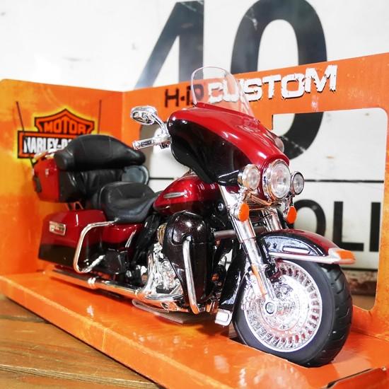 ハーレーダビッドソンFLHTK エレクトラ GLIDE ULTRA LIMITED バイク  アメリカン雑貨の画像