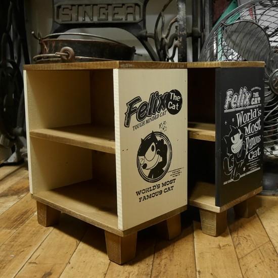 フィリックス ウッデンミニシェルフ 小物入れ FELIX 収納棚 ディスプレーラック アメリカン雑貨の画像
