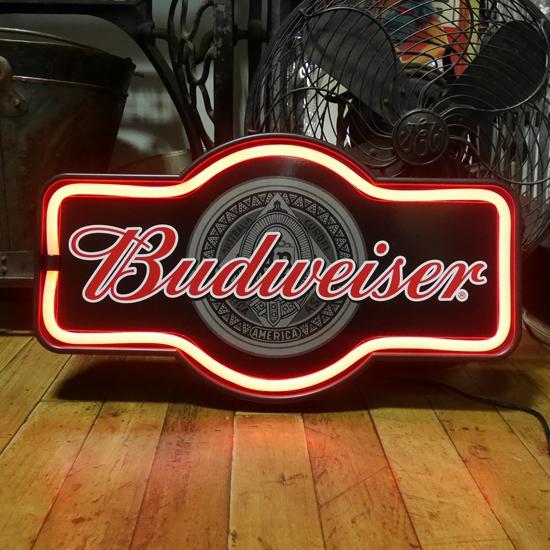 バドワイザー LED ロープ ネオンサイン Budweiser アメリカンインテリア画像