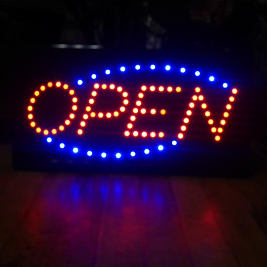 OPEN LEDネオンサイン オープンサイン看板 アメリカン雑貨画像