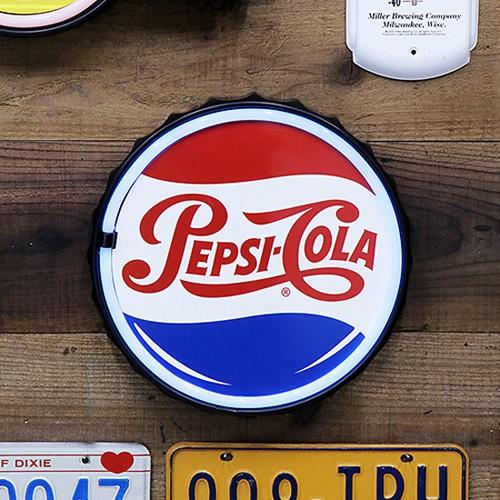 ペプシコーラ LED ロープ ネオンサイン PEPSI COLA アメリカンインテリアの画像