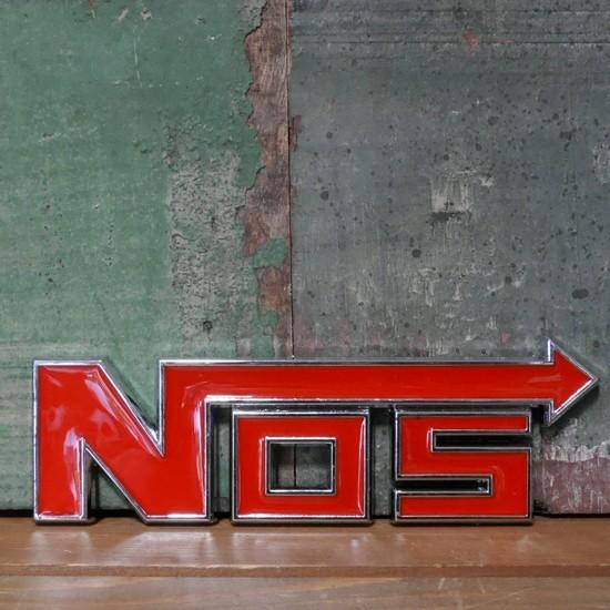 NOS スチール ステッカー ニトロ  STICKER アメリカン雑貨の画像