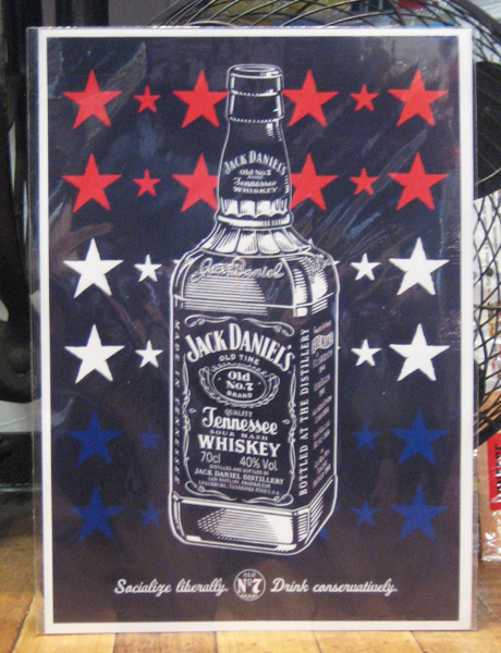 アメリカンポスター【ジャックダニエル】広告ポスター アメリカン雑貨の画像
