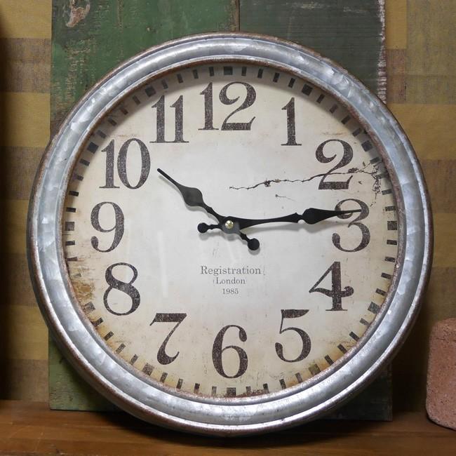アンティーククロック 壁掛け時計 ウォールクロック レトロアメリカンインテリアの画像
