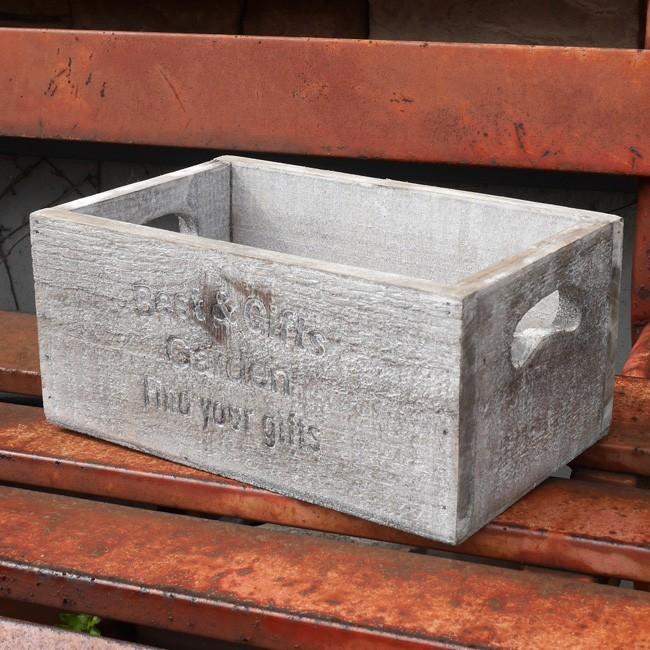 セドリュボックス S 収納ボックス 木箱 ガーデンプランター ガーデニングの画像