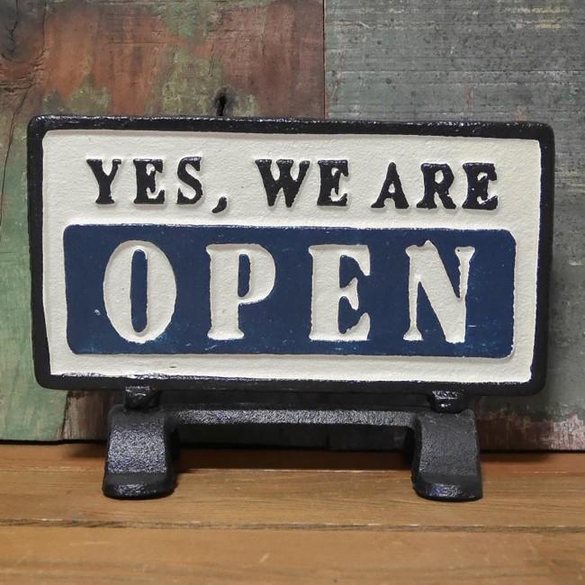 OPEN CLOSE ダルトン リバーシブルサインスタンド オープン クローズ アメリカン雑貨画像