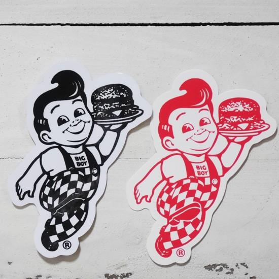 BIG BOY オフィシャル ステッカー ビッグボーイ シール アメリカン雑貨の画像