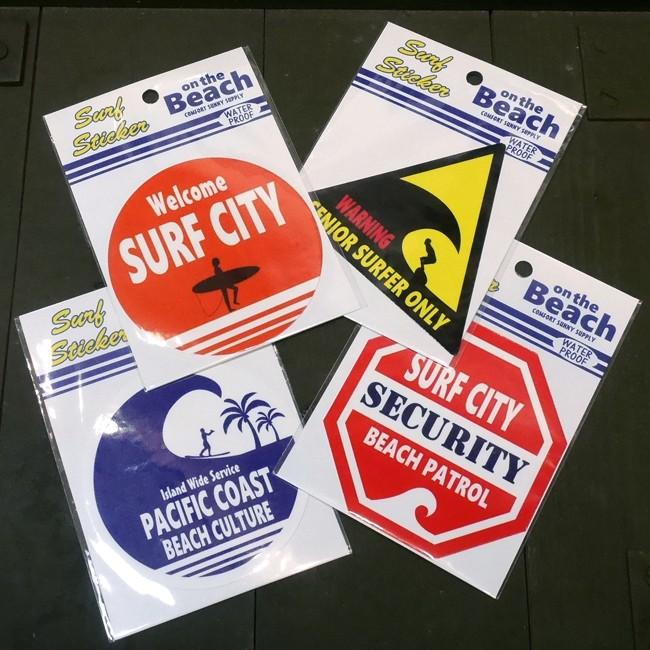 サーフィン ハワイ ステッカー シール  サーフステッカーの画像