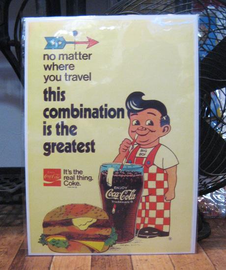 アメリカンポスター【ビッグボーイ】アドバタイジングポスター アメリカン雑貨の画像