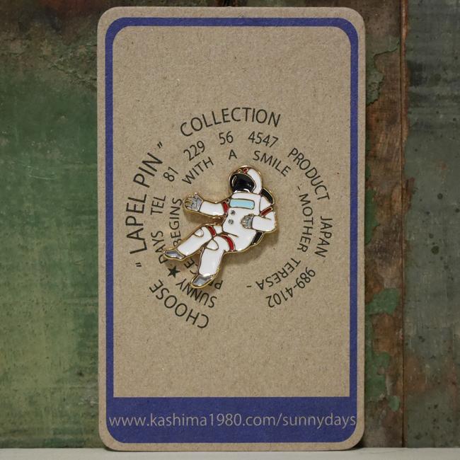 宇宙飛行士 ピンバッジ アストロノーツピンズ アメリカン雑貨の画像