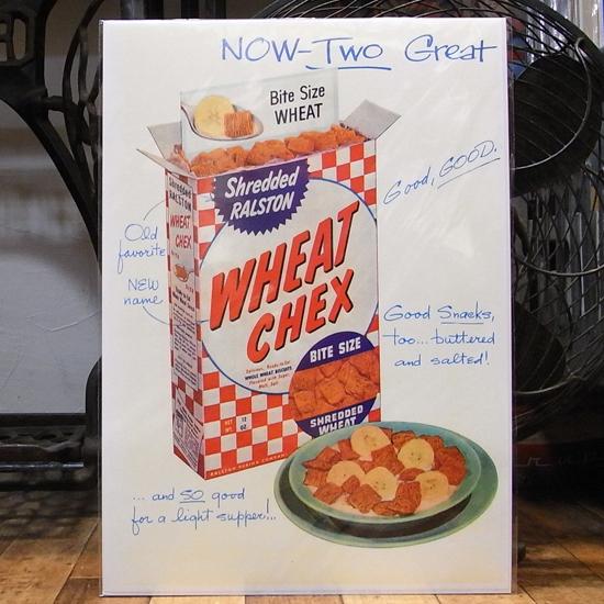 アメリカンポスター【CHEX】広告ポスター アメリカン雑貨の画像