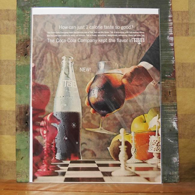 Life誌アンティークポスター アドバタイジング広告ポスター アメリカン雑貨の画像