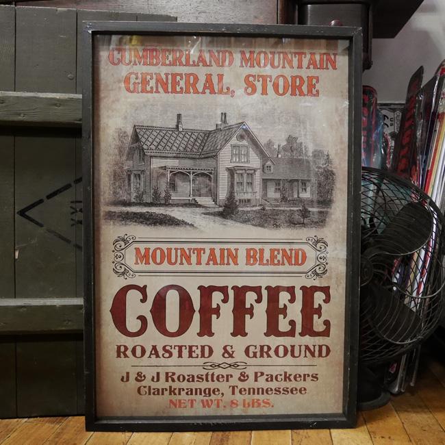 ダルトンレトロ アートフレーム【COFFEE R&G】 ポスター フレームセット インテリア額の画像