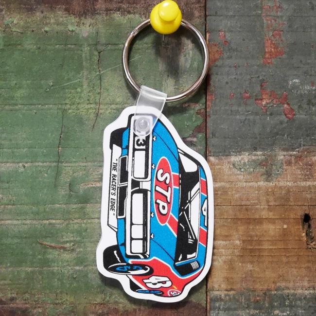 STP ラバーキーチェーン CAR アドバタイジングキーホルダー アメリカン雑貨の画像